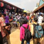語学訓練でマーケットへ。ルワンダ語で値切りに挑戦!