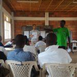 ルワンダ職業訓練校のビジネスゲームを見学。収穫はあったが最後にヘマした模様。