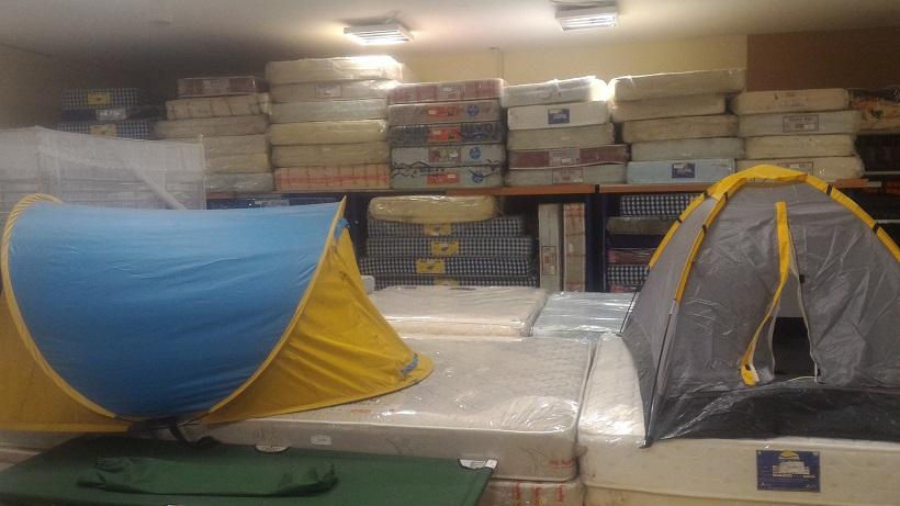 寝具、テント