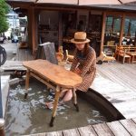 箱根「NARAYA CAFE(ナラヤカフェ)」足湯につかってコーヒーとかビール飲める夢のようなカフェ